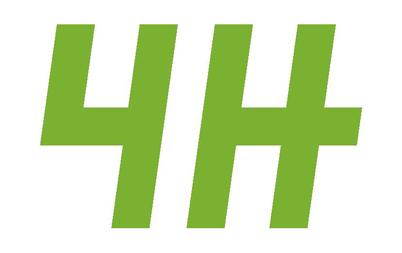 Turun 4H yhdistyksen logo