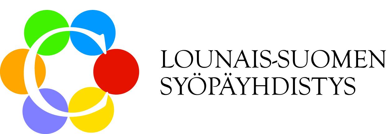 Lounais-Suomen Syöpäyhdistyksen logo