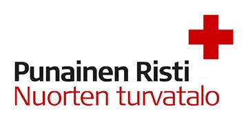 Punaisen Ristin Nuorten turvatalon logo