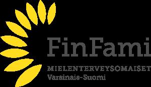 Varsinais-Suomen mielenterveysomaiset – FinFami ry:n logo
